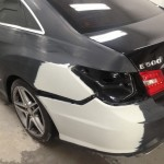 Mercedes E500 - Before