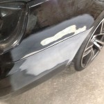 Mercedes E500 - Bumper Repair